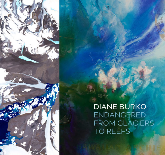diane burko endangered from glaciers to reefs